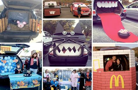 halloween tailgate themes trunk or treat tailgating halloween style cars