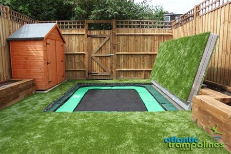 small house big backyard 1000 ideas about sunken troline on pinterest in