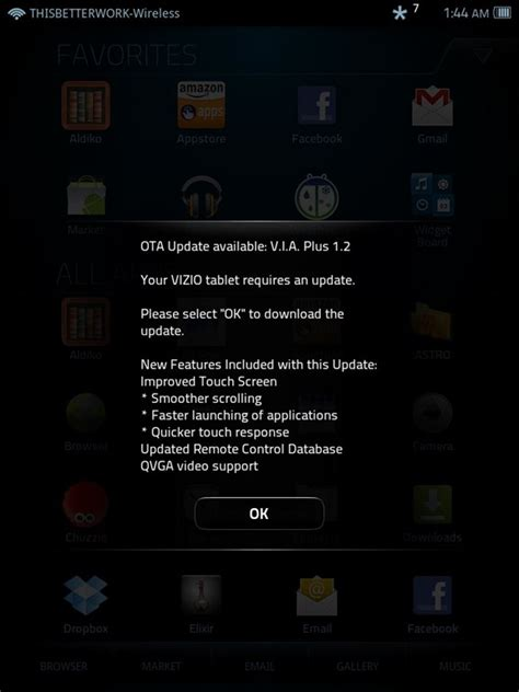 how to upgrade the firmware on a vizio television ehow download vizio tablet gets software update v i a plus 1