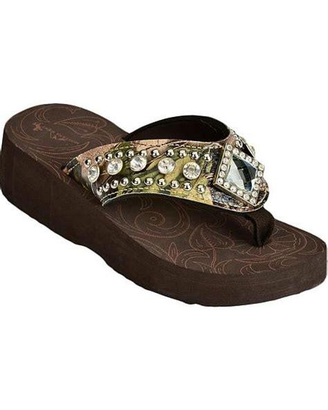 montana west sandals montana west camo print rhinestone wedge sandals sheplers
