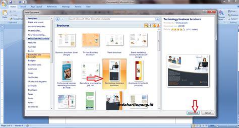 membuat brosur produk sekilas info cara membuat leaflet brosur dengan