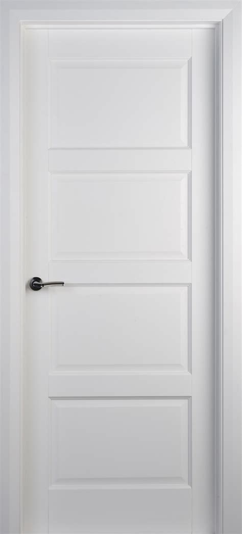White Panel Interior Doors Contemporary 4 Panel White Primed Door 40mm Doors White Doors