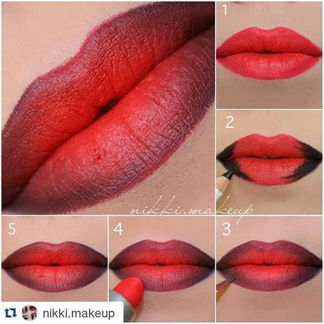 video tutorial lipstik ombre 385 best lipstick love images on pinterest lipsticks