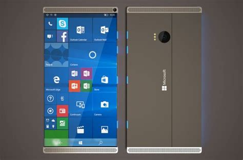 Microsoft Surface Phone microsoft surface phone design concept phones
