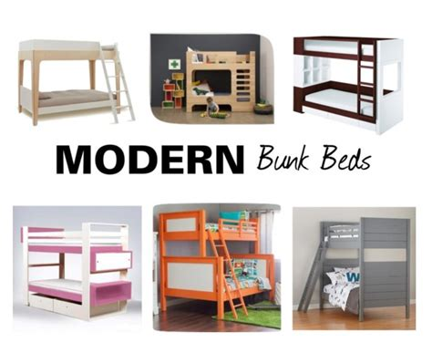 contemporary bunk beds gear girl modern bunk beds momtrendsmomtrends
