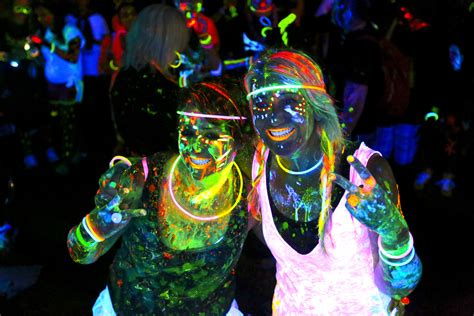 glow in the paint run evabank midnight run 5k cullman parks recreation