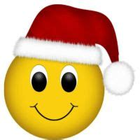 smiley face with santa hat clipart (10+)