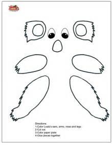 paper plate puppets templates alphabet crafts letter k