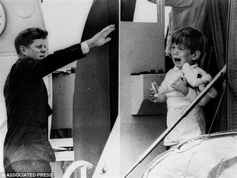 john f kennedy children how the kennedy children heard of their father s
