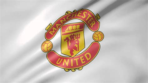 wallpaper cartoon manchester united manchester united animated flag youtube