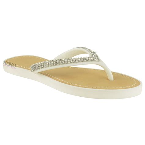 jelly sandals for womens new jelly sandals womens diamante summer