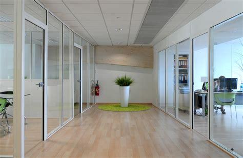 cloison aluminium bureau atypik installateur de cloison amovible et d 233 montable