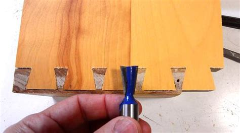 cheating  hand cut  blind dovetails