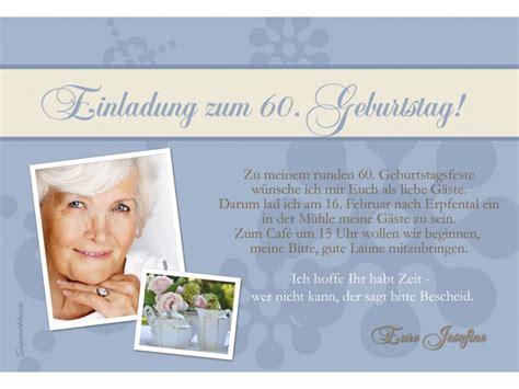 Muster Einladung Referent Einladung 60 Geburtstag Fotokarte 10x15 Cm Gr 252 N