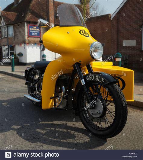 Motorrad Oldtimer Outfit by Bsa Stockfotos Bsa Bilder Alamy