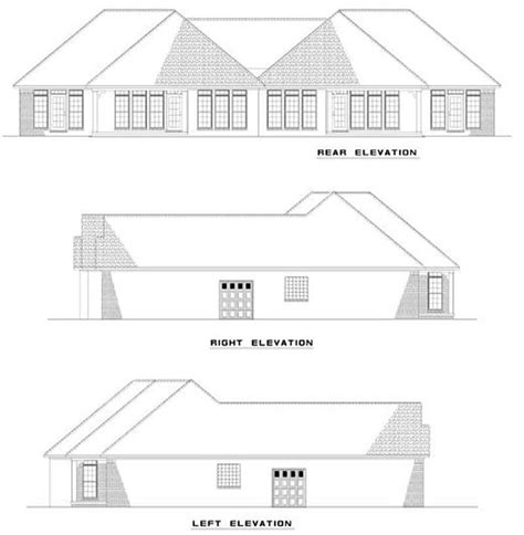 Multi Unit Home Plans by Multi Unit House Plan 153 1000 2 Bedrm 1387 Sq Ft Per