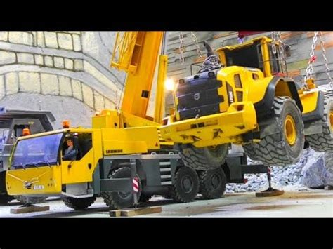 Special Edition Mainan Rc Truck Exavator Heavy Machine Xm 6811l cool rc machines at work heavy loader lift from the ltm