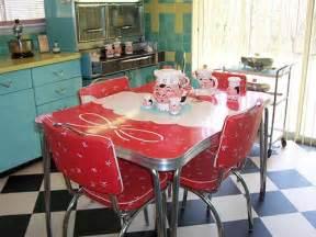 Small Retro Kitchen Table 23 Dinette Sets Vintage Kitchen Treasures Retro Renovation