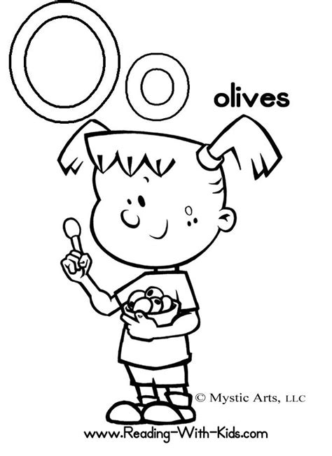 the letter o coloring pages az coloring pages
