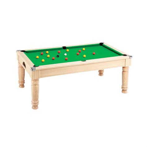 Dining Pool Table Uk Oak Dpt Majestic Dining Pool Table Leisure
