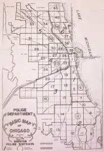 Chicago Districts Map by Chicago Police Districts 1 41 Old Map Flickr Photo