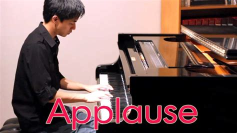 lady gaga applause piano tutorial by plutax maxresdefault jpg
