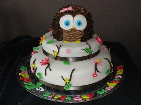 owl cakes decoration ideas birthday cakes