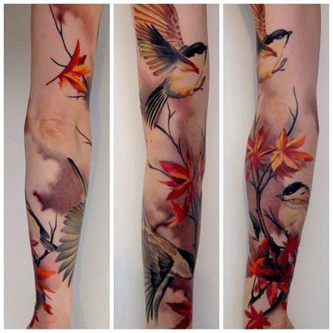 autumn tattoos best 25 autumn ideas only on