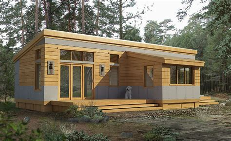 Efficient Custom Hybrid Pre Fab Home Plans