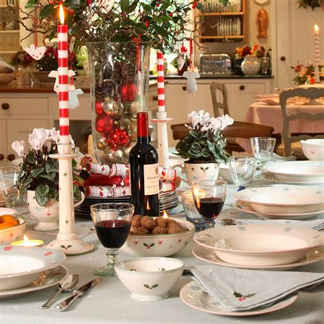 christmas dinner table settings christmas table settings casual cottage