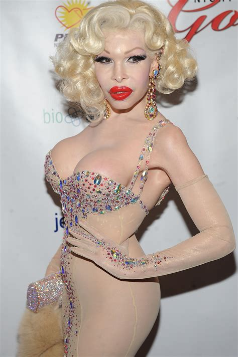 Amanda Lepore To Appear In Buzzworthy New by Bokissonthrone News Transgender Amanda Lepore Wears The