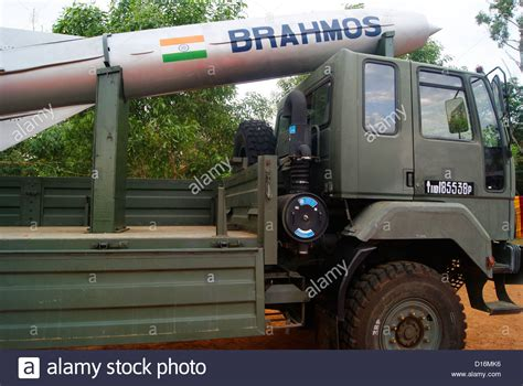 indian army truck brahmos supersonic cruise missile carrying indian army