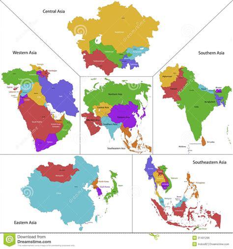 regional map of asia regional map of asia arabcooking me