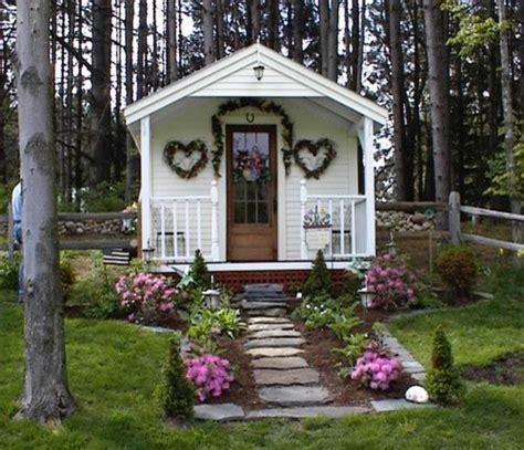 backyard cottage kits garden shed farm kits 10 x 16 pond house cabin beach style exterior