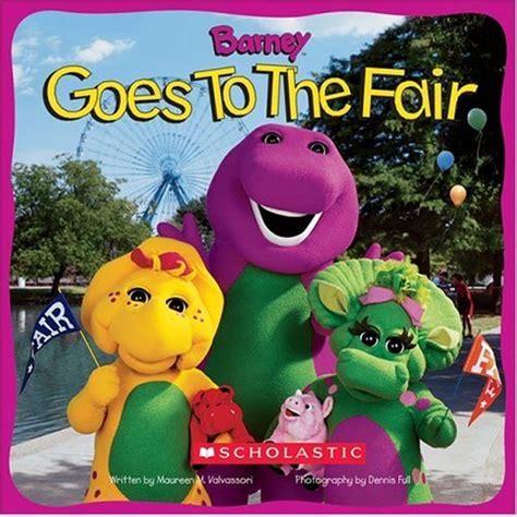 backyard book fair barney goes to the fair barney wiki fandom powered by