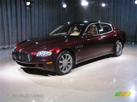 Burgundy 2006 Maserati Quattroporte Burgundy Color