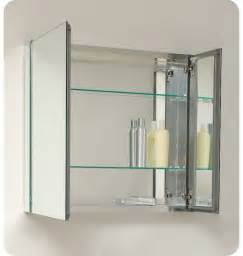 marvelous Residential Interior Design Ideas #6: Framed-Mirror-Medicine-Cabinet.jpg