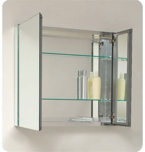 Bathroom Mirrored Medicine Cabinet Framed Mirror Bathroom Medicine Cabinets Decosee