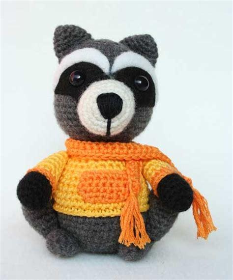 amigurumi raccoon pattern free procione amigurumi hobby uncinetto