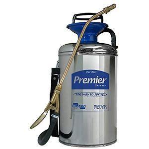 chapin  gallon stainless steel home garden pump sprayer