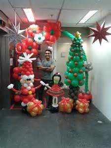 christmas balloons balloon christmas winter ideas