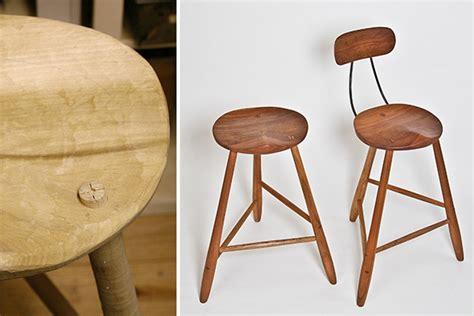 Handmade Stool - the vera handmade stool christopher ness cabinetmaker