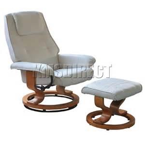 la faux leather office armchair swivel recliner