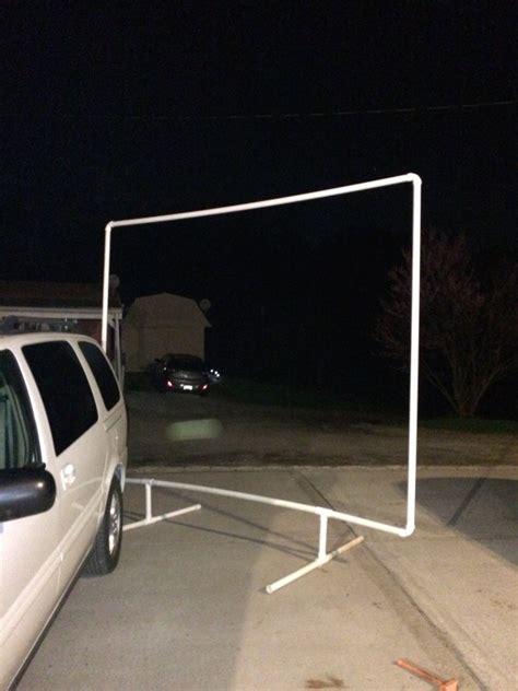 diy backyard projector screen diy backyard ideas littlethings