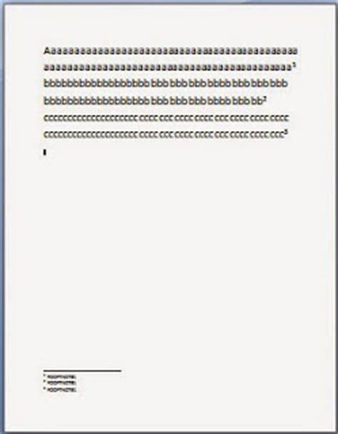 cara membuat footnote di word 2007 bagaimana cara membuat endnote di microsoft word 2007