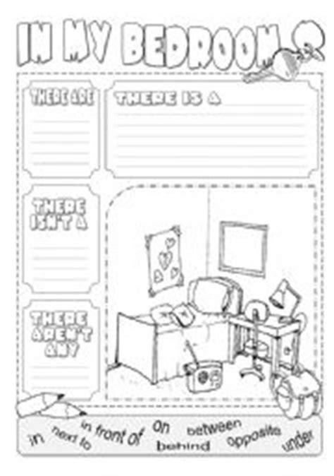 Bedroom Description Exercises In My Bedroom There Is Worksheet By Alenka Zibert