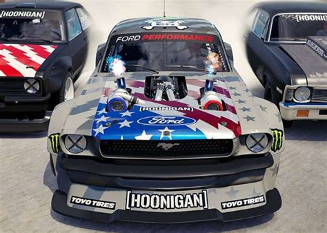 hoonigan cars forza horizon 3 hoonigan car pack trailer geeky