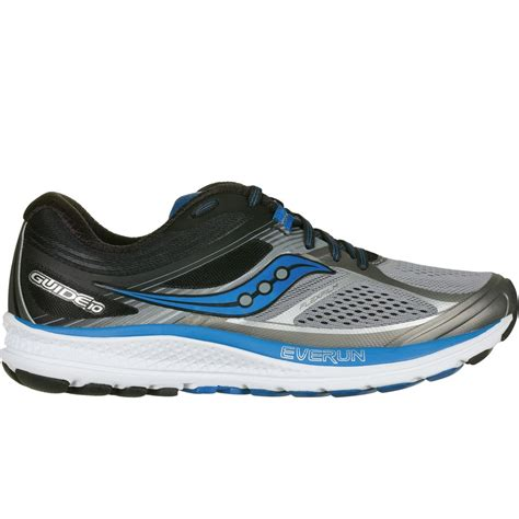 saucony stability running shoes saucony guide 10 light stability running shoe s