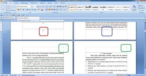 cara membuat halaman di word 2013 tanpa cover cara membuat halaman angka dan romawi di satu file