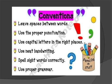 themes and conventions meaning writing skills